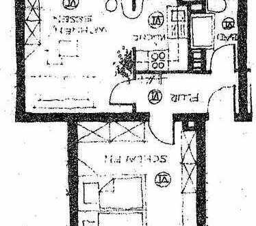 2 Zimmer-Wohnung in Emmerich zu vermieten