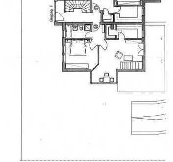 2-Raum-EG-Wohnung mit bhzt. Hobbyraum im UG in Weinböhla