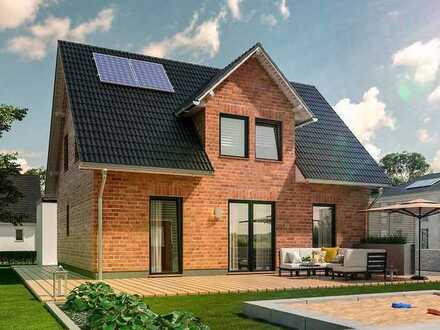 Typisch Münsterland: Gemütliches Haus mit Klinker für die Familie