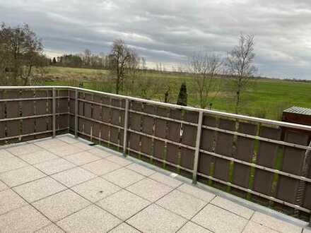 Sonnige 3-Zimmer-Wohnung mit EBK und Balkon in Butjadingen - Waddens