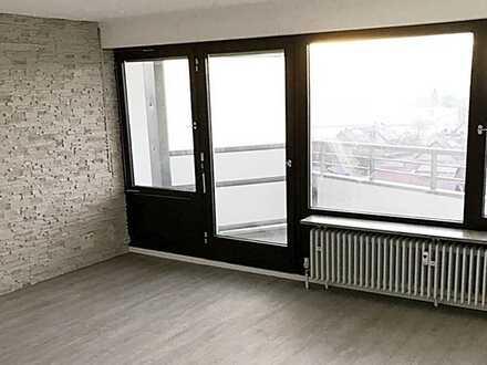 Vollständig renovierte 2-Zimmerwohnung mit herrlicher Aussicht
