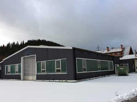 projektierte Gewerbehalle zur Miete, verkehrsgünstig im Mischgebiet von Titisee-Neustadt