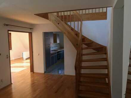 Vollständig renovierte 102 qm Maisonette-Wohnung in Mühlacker/Dürrmenz