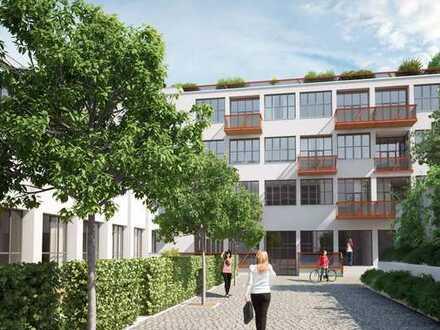 Flingern: Maisonettewohnung (Erdgeschoss/Souterrain) im Innenhof