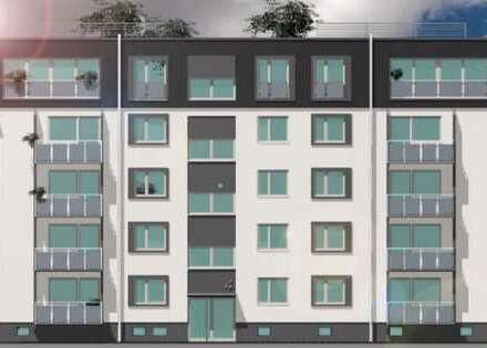 Wunderschönes Dachgeschoss mit Baugenehmigung zum Ausbau von 2 Penthousewohnungen und 2 PKW-Stpl.