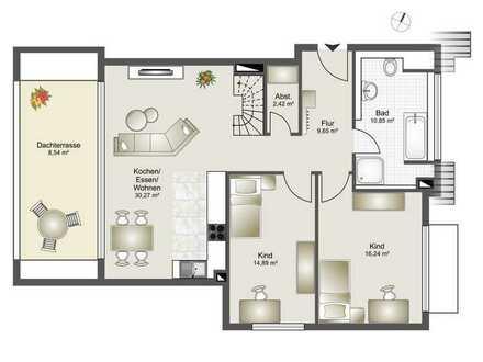 Neubau 8 Familienhaus-Zentrumsnahme ab 2,5 Zi. bis 4,5 Zi. ETW Whg. 8