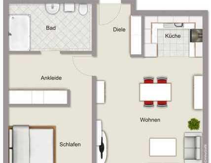 Exklusive Erdgeschoss-Neubauwohnung mit Terrasse im Stadtzentrum von Haltern am See!