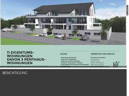 luxeriöse und komfortable Penthouse-Wohnung 3ZK2B Balkon in Toplage in Homburg-Sanddorf