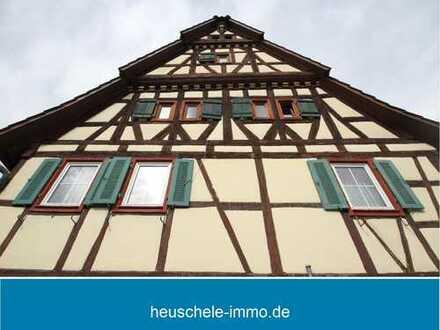 Fachwerkhaus mit großer Scheune im wunderschönen Ort Vaihingen-Roßwag