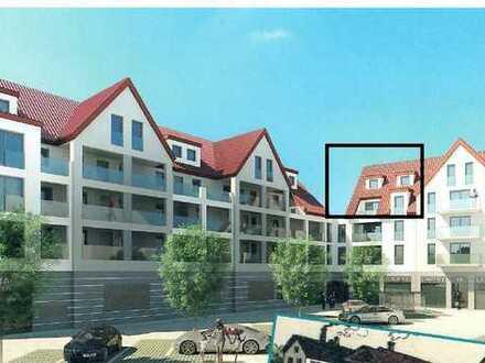 Erstbezug: Stilvolle 5,5-Zimmer-Maisonette-Wohnung mit EBK und großer Dachterrasse in Illerkirchberg