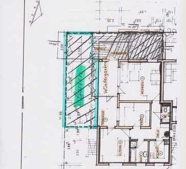 EG 3 1/2 Zi.-Whg, Garten, Wintergart, Bad mit Fenster, gr. heller Abstellr. im EG, bez. 31.12.18