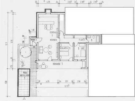 Schöne 3-Zimmer-Einlieger-Wohnung mit Terrasse und Gartenanteil in Baden-Baden