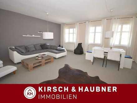 Einmaliger Wohngenuß inmitten der Stadt! Große 2,5-Zimmer-Wohnung,  Freystadt - Am Marktplatz