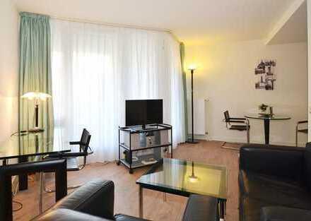 Moderne, gepflegte 2-Zimmer-Wohnung mit großem Balkon und Einbauküche in Hamburg Rotheburgsort