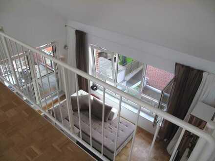 Super chice Maisonette-Wohnung (2.OG + DG) mit offener Galerie in 41844 Wegberg!