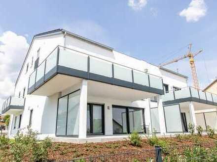 Hepberg Penthouse Erstbezug: 4-Zimmer-Wohnung mit Blick über die Stadt