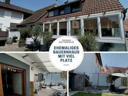Charmantes, ehemaliges Bauernhaus in Waltershofen