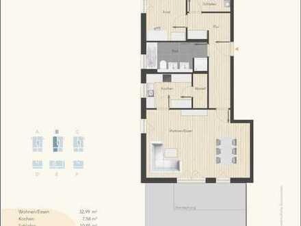 "Attraktive 3-Zi.-Penthouse-Etw.B 09 (Neubau) im ""Theresienpark3"""
