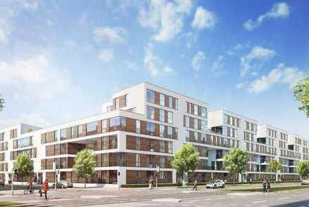 Erstbezug mit Balkon: freundliche 3-Zimmer-Wohnung in Neuhausen, München