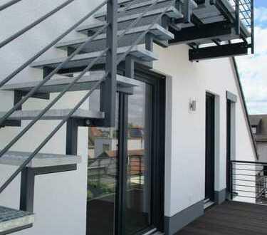 Topp Neubau-Maisonettewohnung in Seligenstadt. Individuell, charmant, hell und edel