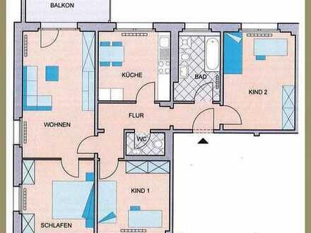 Tolle 4-Raum-Wohnung zum sofortigen Bezug