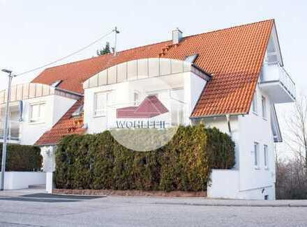 Ruhige 4,5-Zimmermaisonettewohnung in guter Wohnlage mit zwei Balkonen inklusive!