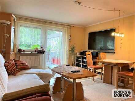Kapitalanlage! - Gepflegte 2-Zimmerwohnung in Neusäß mit EBK, Balkon und Tageslichtbad