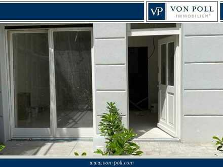 Von Poll Immobilien: Möbliertes Apartment mit sonniger Terrasse, bezugsbereit zum 1. August