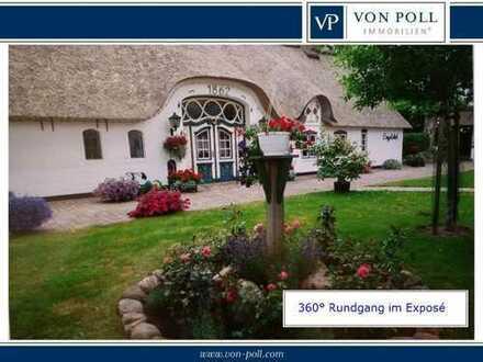 Stilvolles, ruhig gelegenes Anwesen unter Reet mit Gästehaus und Pferdekoppel PREIS AUF ANFRAGE