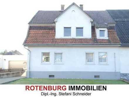 Doppelhaushälfte mit Altbaudetails in Innenstadtnähe von Bebra