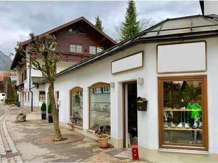 Kleines Ladenlokal in Oberstdorf