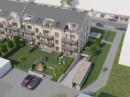 Ausblick ins Grüne: Attraktive 3 Zimmer-Neubauwohnung mit Balkon im schicken KWARTIER KÖNIGSHOF