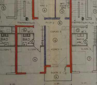 Gepflegte 3-Zimmer-EG-Wohnung mit Balkon und Einbauküche in Stuttgart-Sonnenberg
