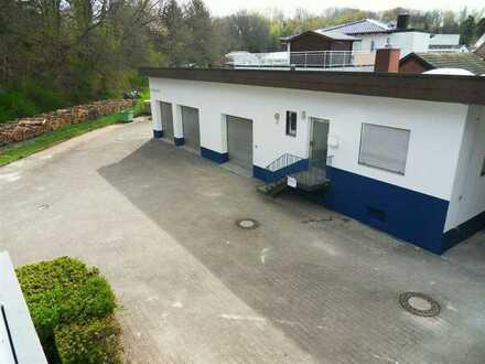 Lagerhallen mit 2 Büros und Nebenräume
