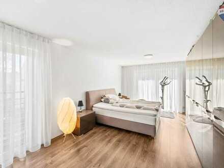 Moderne, helle 5-Zimmer-Wohnung mit gehobener Ausstattung, schöner Aussicht und großem Balkon!