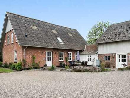 3 Seiten Hof in der Nähe von Tinglev und Tønder…