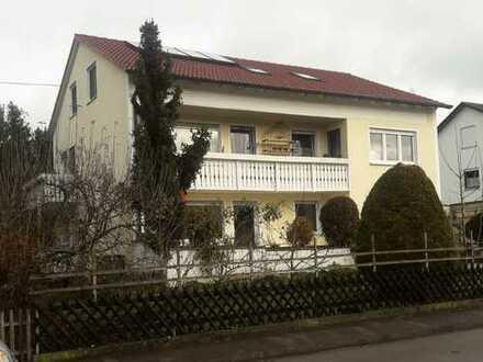 4-Zimmer-Wohnung mit Balkon in Zusmarshausen