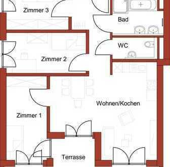 Neubau Memminger Wanne - geräumige 4-Zimmer-Wohnung