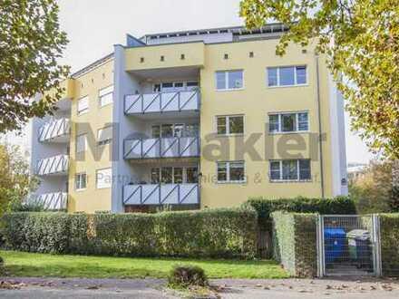 Freundlich und naturnah: Lichtdurchflutete 3-Zimmer-ETW mit Balkon in Großstadtnähe