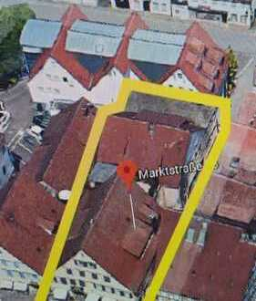 Zwei Mehrfamilienhäuser in der Fußgängerzone - ideal für Bauträger und Anleger KEIN DENKMALSCHUTZ