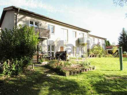 Wertbeständige Investition naturnah in Stralsund: Zuverlässig vermietete Terrassenwohnung in Devin