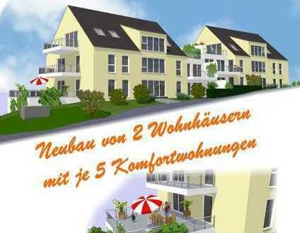 BAUBEGINN ERFOLGT - Neubau von 2 Wohnhäusern mit je 5 Komfortwohnungen im Grünen von Hattingen