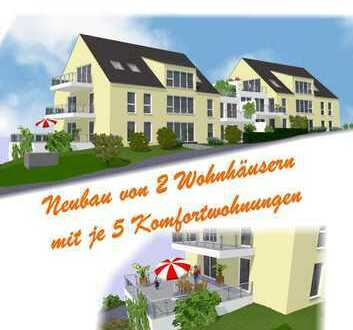 Neubau von 2 Wohnhäusern mit je 5 Komfortwohnungen im Grünen von Hattingen