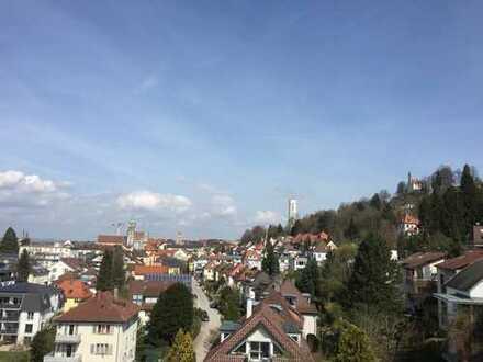 3,5 Zimmer-Wohnung in schöner Lage von Ravensburg, in der Federburgstr. mit herrlichem Ausblick.