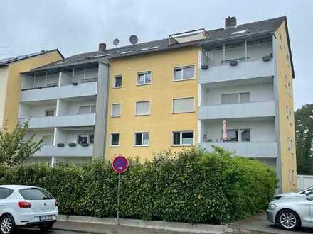 Modernisierte 2-Zimmer-Wohnung, Bickenbach, großer Balkon mit Fernblick, Viber(1GB) in der Wohnung