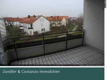 * Hemmingen: Schöne, gepflegte 2-Zi.-Wohnung * BJ 1996 * EBK * großer Balkon * TG-Stpl. *