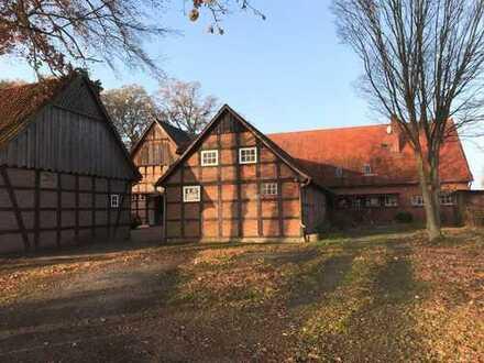 Denkmalgeschützter Artlandhof im Außenbereich der Gemeinde Badbergen