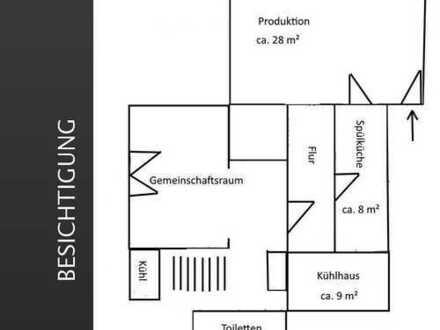 Produktionsküche, Ghostküche in Rödelheim, Abstand 10.000