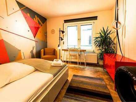 Freundliche, sanierte 1-Zimmer-Wohnung mit gehobener Innenausstattung zum Kauf in Mannheim