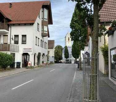 Maisonettewohnung in Fachwerkhaus: Renovierung 1990, Gaszentral, Einbauküche, TL-Bad: Du. u. BW